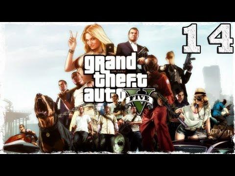 Смотреть прохождение игры Grand Theft Auto V. Серия 14 - Как угнать самолет.