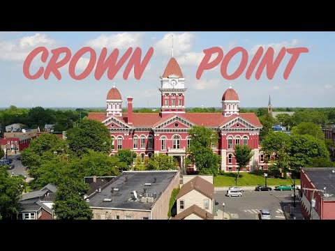 Places to Visit in Indiana (Downtown CROWN POINT)