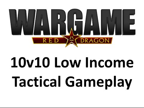 Wargame Red Dragon - 10v10 Low Income Tactical Gameplay