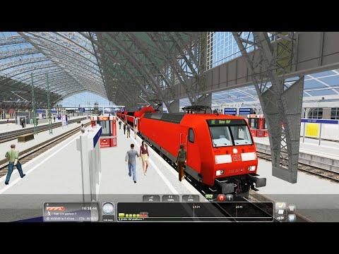 Carefree to Bonn. DB BR146. Cologne to Koblenz 10. Train Simulator 2016
