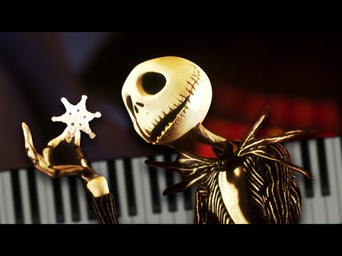 This Is Halloween (from The Nightmare Before Christmas) - Piano Tutorial