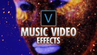 Vegas Pro 16: How To Make Music Video Effects - Tutorial #422 Video
