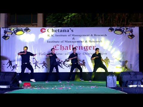 Koi kahe kehta rahe Dance Performance at Chetana's Institute, Mumbai || Challenger 2016-17