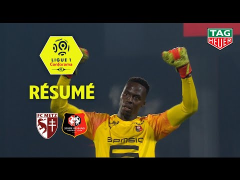 FC Metz - Stade Rennais FC ( 0-1 ) - Résumé - (FCM - SRFC) / 2019-20