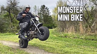 Enduro Racing Mini Bike Gets WICKED Upgrades!