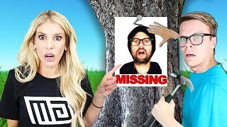 Daniel is Missing in Real Life! (Game Master Network Rescue Mission)