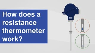How does a resistance thermometer work? | Resistance thermometers per IEC 60751