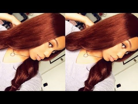 How I Dyed My Hair Copper/Auburn With NO BLEACH | Ft. Lavy Hair
