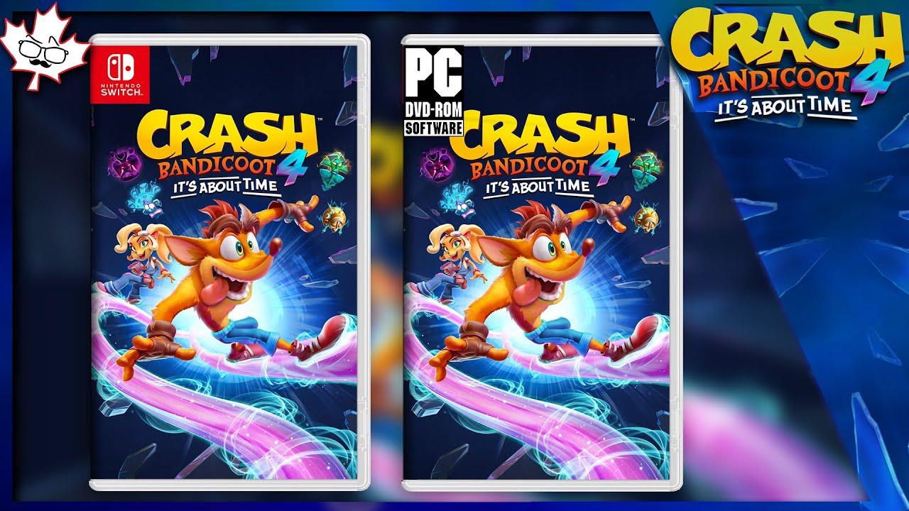 Crash Bandicoot 4: Nintendo Switch and PC Ports Discovered?