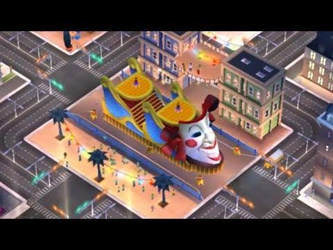 Mardi Gras in Simcity Build It