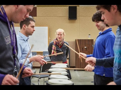 Introductions: Bonnie Whiting, Head of UW Percussion Studies