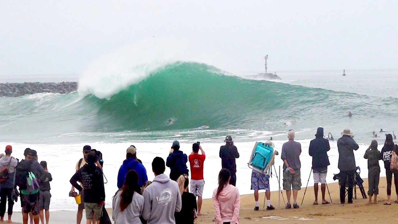 The Wedge - BIGGEST Day of 2021 (RAW FOOTAGE)