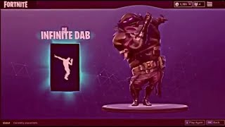 FORTNITE INFINITE DAB BASS BOOSTED xD