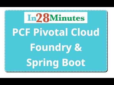 Pivotal Cloud Foundry PCF Tutorial with Spring Boot Microservices thumbnail