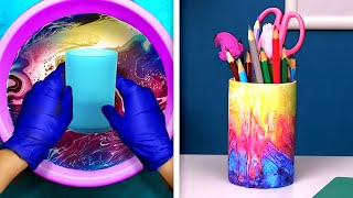 20 COLORFUL DIY CRAFTS FOR YOUR OFFICE SUPPLIES