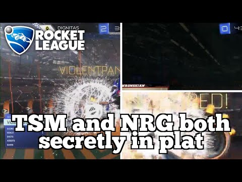 WTF Rocket League Moments: TSM and NRG both secretly in plat thumbnail