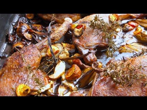 Entenkeulen braten und im Backofen einfach zubereiten