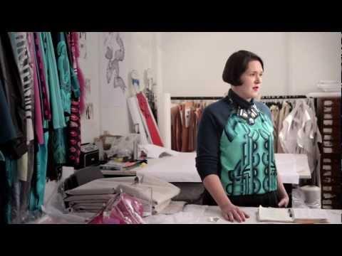 Holly Fulton, Fashion Forward winner 2013