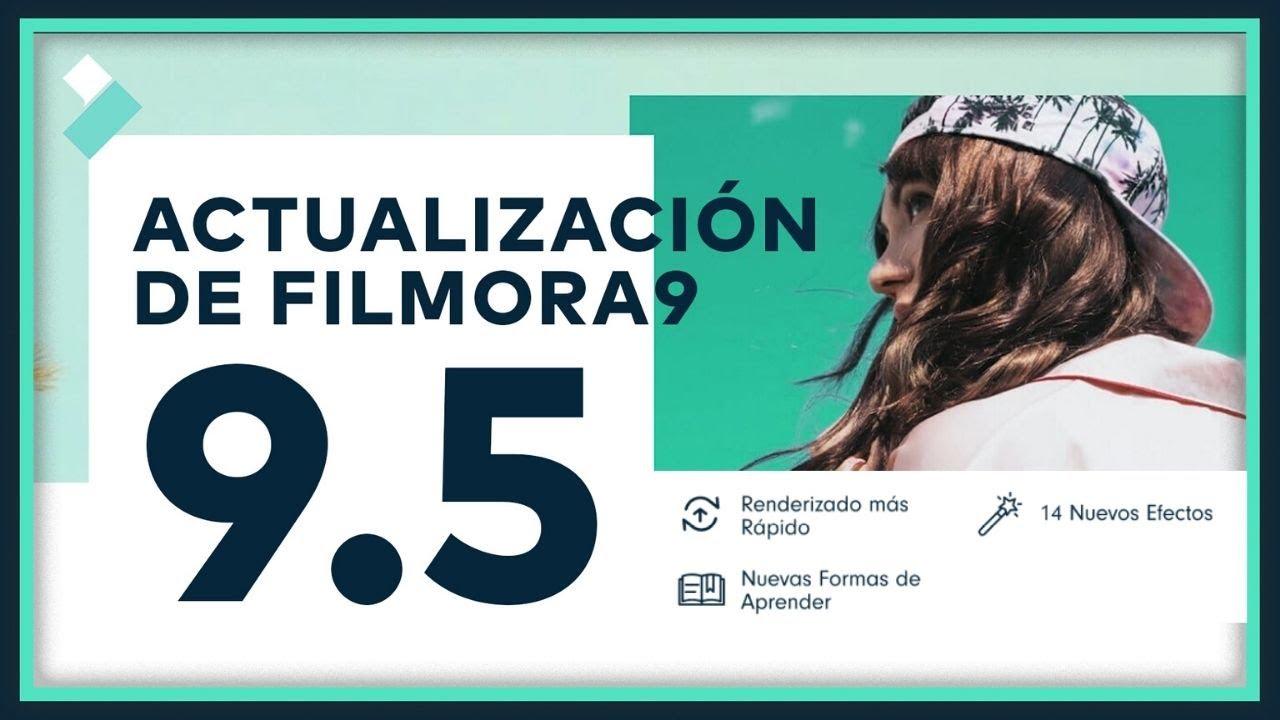 Actualización Filmora9, v9.5 | Filmora9