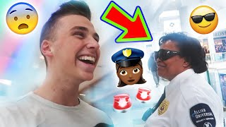 VLOGGING WITH MALL SECURITY!!