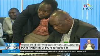 Nation Media Group CEO, KPA MD discuss potential collaboration to enhance growth