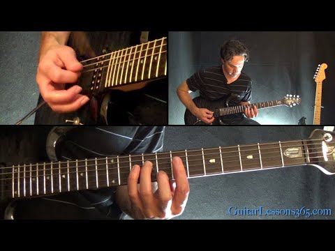 I Remember You Guitar Solo Lesson - Skid Row