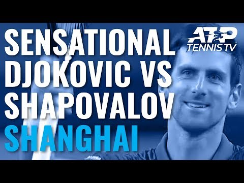 Sensational Novak Djokovic Winners vs Shapovalov | Shanghai 2019