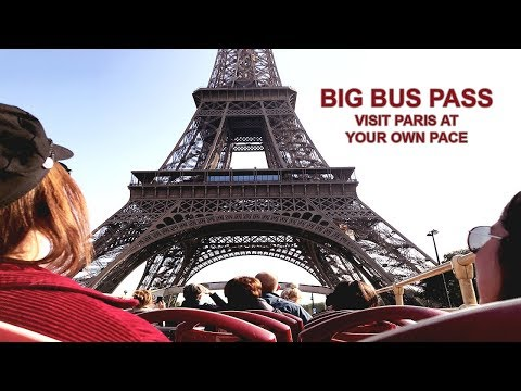 Paris Hop-on Hop-off With Big Bus