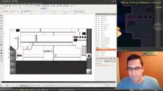 Making of Samus Wallpaper using Inkscape