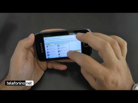Samsung Galaxy gio videoreview da Telefonino.net