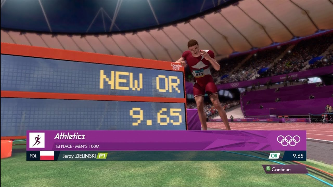 Olympic Record | Men's 100m | London 2012: The Olympic Games | XBOX 360 | Hard
