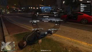 Grand Theft Auto V онлайн. Совместное прохождение игры №2
