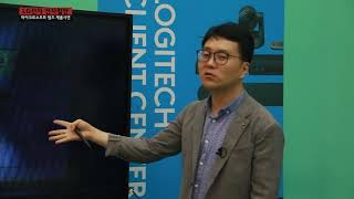 LG전자 전자칠판 × 로지텍카메라 × MS 팀즈로 구성…