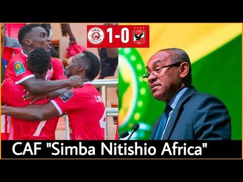 Shirikisho la Mpira Africa CAF latoa tamko zito Usiku huu baada ya Simba kuwa tishio Africa