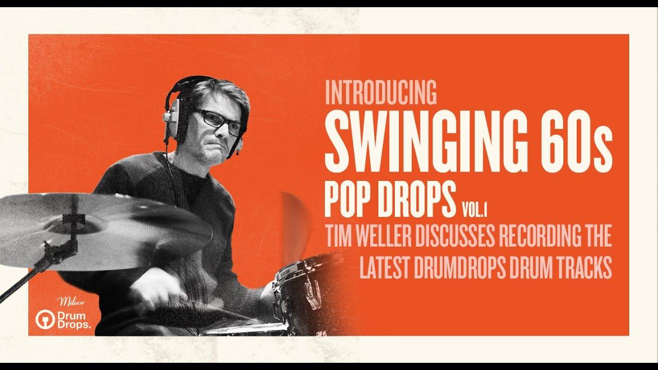 KVR: Swinging 60s Pop Drops by Drumdrops - Multi-track Drum Tracks