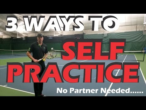 Thumbnail: How to Practice Tennis By Yourself | No Partner Tennis Practice