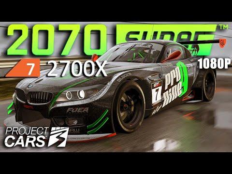 Project CARS 3   RTX 2070 Super + Ryzen 7 2700X (ULTRA 1080p)  
