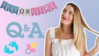 Q&A! Ποιο είναι το φύλο του μωρού; Βρήκαμε όνομα για το μωρό; | Marinelli