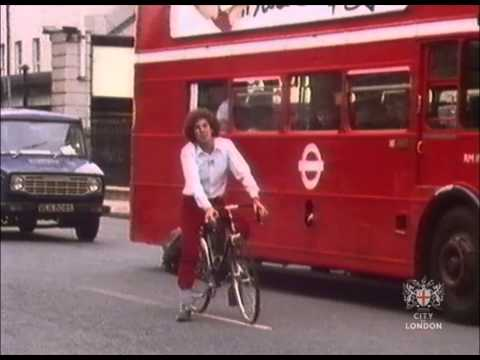 Cycling in London, c1980s