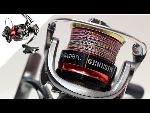 $25 Shimano Stradic Ci4+ Clone Has One Major Flaw | Bobing Genesin GN4000HSC Reel And Braid Review