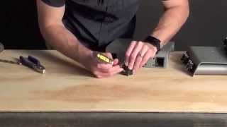 How to remove a p๐p rivet - Softride Bike Racks