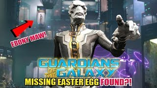 Ebony Maw | Guardians of the Galaxy Big Missing Easter Egg FOUND