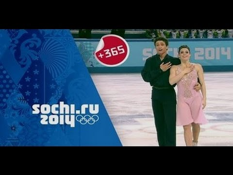 Tessa Virtue & Scott Moir On Their Ice Dancing Silver At Sochi, One Year Later