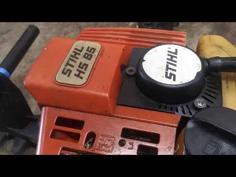 * stihl hs 85 carburetor repair. hs 85 carb install