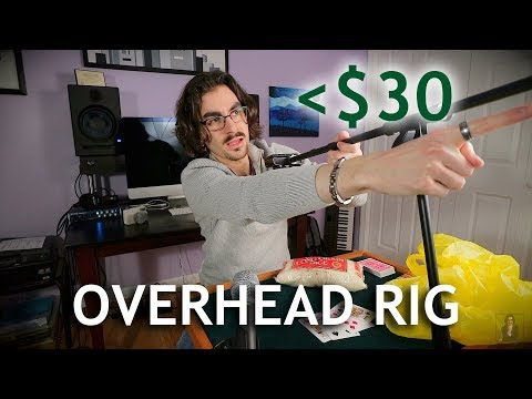 Budget alternative to Peter McKinnon's $200 overhead rig!