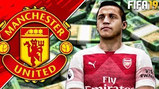 FIFA 19: Manchester United Career Mode - EP9 | SANCHEZ GOES BACK TO ARSENAL?!