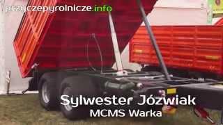 Przyczepy rolnicze MCMS