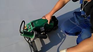 видео Аппарат для сварки ПВХ мембран