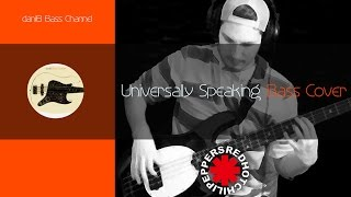 Red Hot Chili Peppers Universally Speaking Bass Cover + Bass Only + Tabs daniB5000