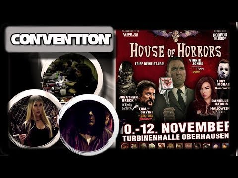 VLOG House of Horrors 2017 Oberhausen - Lena Nitro getroffen - Convention - German Deutsch